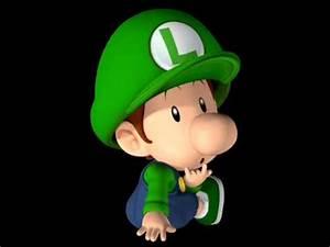 Mario Kart Wii Baby Luigi Voices - YouTube