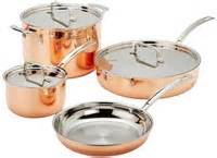 cuisinart copper tri ply stainless steel cookware set review