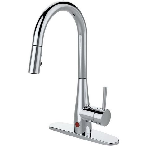 kitchen faucet pull delta trinsic single handle pull down sprayer kitchen faucet featuring touch2o technology in