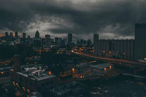 City Dark Montreal Wallpapers Hd Desktop And Mobile