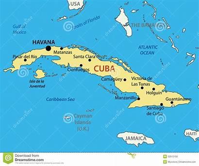 Cuba Map Vector Republic Eps