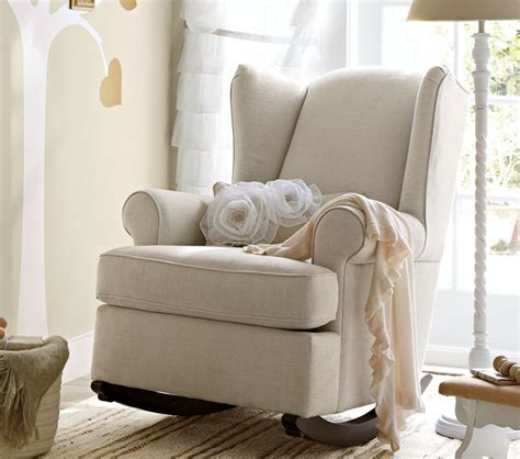 comfortable nursery rocking chair the wooden houses