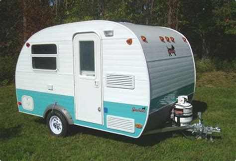 serro scotty scotty pup small travel trailer exterior vintage small campers pinterest