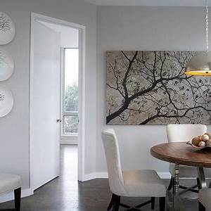 Interior design inspiration photos by b moore design for Best brand of paint for kitchen cabinets with cherry blossom canvas wall art