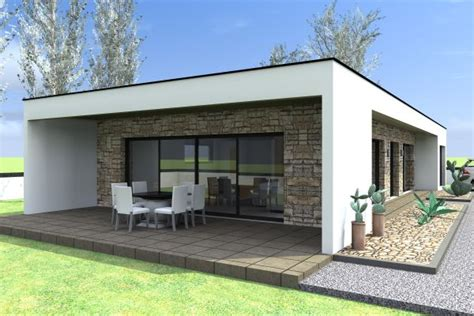 style de maison moderne plain pied maison plain pied d architecte contemporain le monde de l 233 a