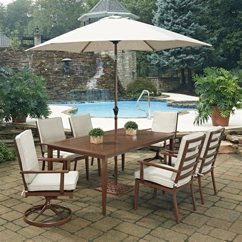 key west 9 pc rectangular outdoor dining table 4 arm