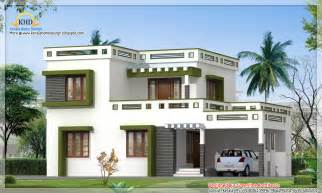 Home Design Gallery - modern square house design 1700 sq ft kerala home design and floor plans