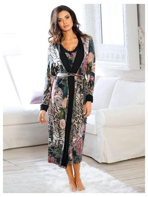 robe de chambre peignoir femme robes 233 l 233 gantes robe de chambre femme original