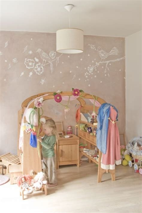Kinderzimmer Mädchen Wandgestaltung by Wandgestaltung F 252 R Ein M 228 Dchenzimmer Kinderzimmer