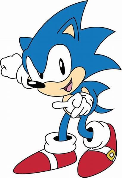 Sonic Classic Hedgehog 2d Transparent Clipart Clip