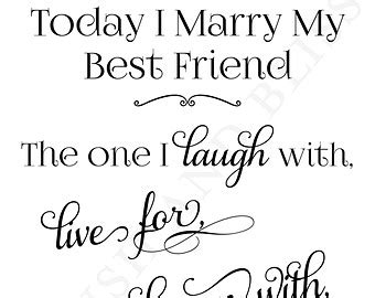 tomorrow i marry my best friend quotes
