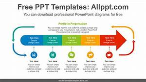 Arrows Progress Powerpoint Diagram Template