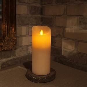 bougie led cire 20cm twinkle flamme eclairage design With cire de bougie sur parquet