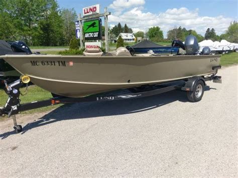 Boats For Sale In Northern Michigan by 2010 Lund Alaskan 2000 Ss 27900 Brutus Boats For