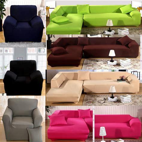 slipcovers for sectional sofa l shape stretch elastic fabric sofa cover pet