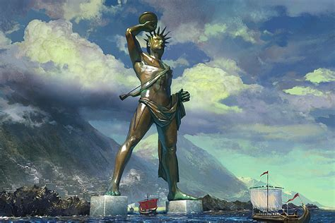 Colossus Of Rhodes Amazing Ancient