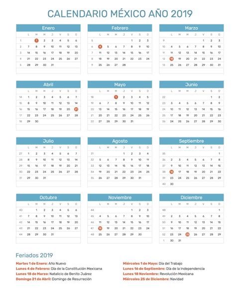 calendario laboral financiamiento