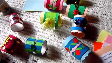 arts  crafts colorful napkin holders  toilet paper