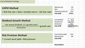 Cost of Retained Earnings - YouTube