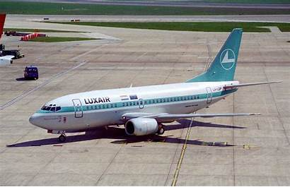 737 Boeing 500 Luxair Aircraft 1996 Flickr