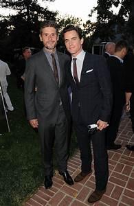 Matt Bomer and Simon Halls | Celebrities Who Pulled Off ...