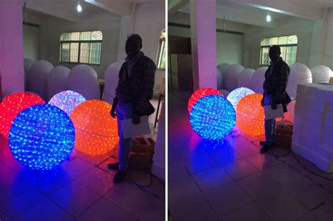 large christmas ball led  outdoor lighting decorations