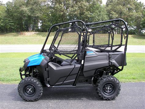 New 2016 Honda Pioneer 700-4 Metallic Blue (sxs700m4