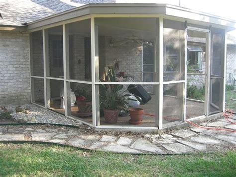 screen patio kits build or repair aluminum or wood re