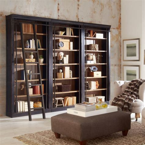 toulouse bookcase wall with ladder mcaleer s office furniture mobile al