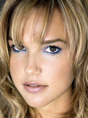celeb   arielle kebbels makeup  icy blue
