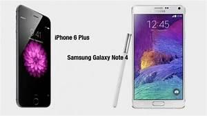 Comparatif Iphone 6 Et Se : iphone 6 plus vs samsung galaxy note 4 le comparatif meilleur mobile ~ Medecine-chirurgie-esthetiques.com Avis de Voitures