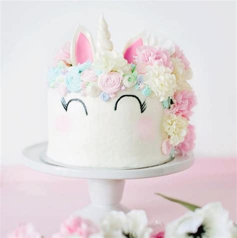 How To Use Cake Decorating Tips by Baking Unicorn Birthday Cake Simply Tale