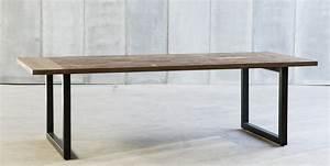 Tisch Metall Holz : design tisch holz metall ~ Whattoseeinmadrid.com Haus und Dekorationen