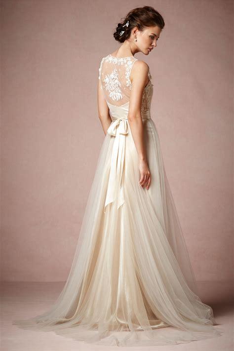 Bhldn Catherine Deane Onyx Dress In Champagne Size 4