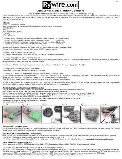 obd0 to obd1 distributor wiring page 2 honda tech honda discussion