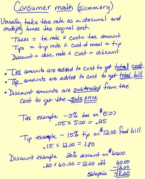 Consumer Math Budgeting Worksheets  Student Budget Worksheet Chapter 7 Worksheets1000 Images
