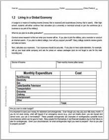 HD wallpapers economics worksheets for high school