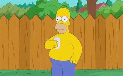 Simpson Bucket Challenge Ice Homer Simpsons Trump