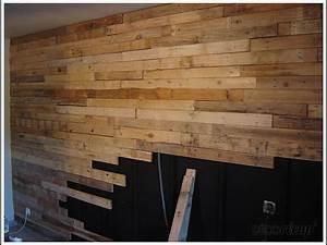 Deco Mur En Bois Planche : mur en planches de palettes par pennale ~ Dailycaller-alerts.com Idées de Décoration