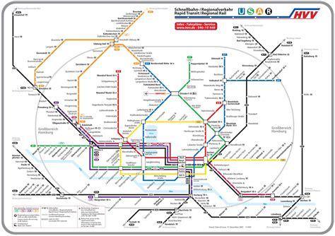 subway map hamburg germany subway maps pinterest