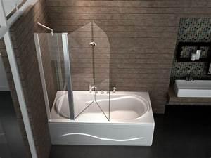 Duschtrennwand Badewanne Glas : duschabtrennung faltbar ~ Michelbontemps.com Haus und Dekorationen