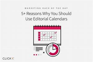 5+ Reasons Why You Should Use Editorial Calendars
