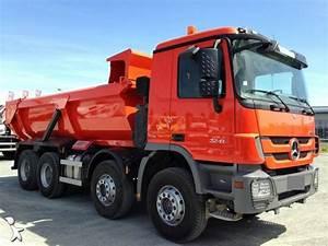 Camion Occasion Mercedes : camion mercedes benne enrochement forez bennes actros 3241 8x4 euro 5 occasion n 1611561 ~ Gottalentnigeria.com Avis de Voitures