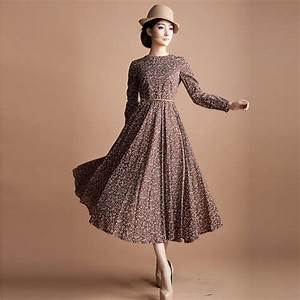 Vintage Long Dress – The Trend Of The Year – Fashion Gossip