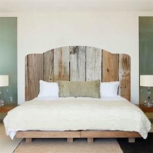 Tete De Lit Chic : fabriquer une t te de lit en bois c 39 est simple et c 39 est chic bricolage bois lit bois ~ Melissatoandfro.com Idées de Décoration