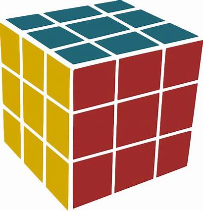 Cube Rubik Rubiks Cuboid Vector Transparent Clip