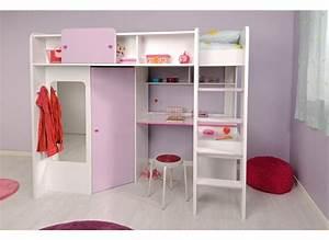 idee de chambre ado fille 12 lit mezzanine une pi232ce With chambre ado fille mezzanine