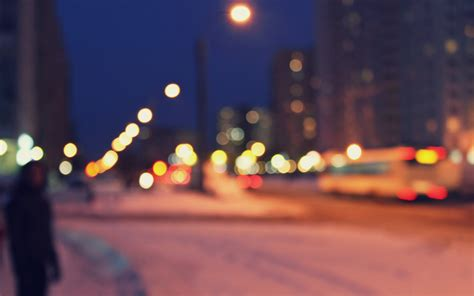 bokeh city wallpaper gallery