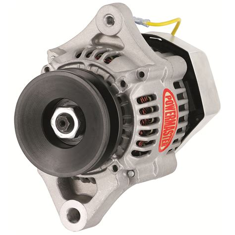 Powermaster Denso Wire Race Alternator Amp Natural