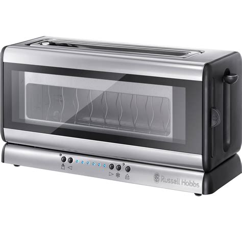 Glass Toaster by Hobbs 21310 Purity Glass 2 Slice Toaster In